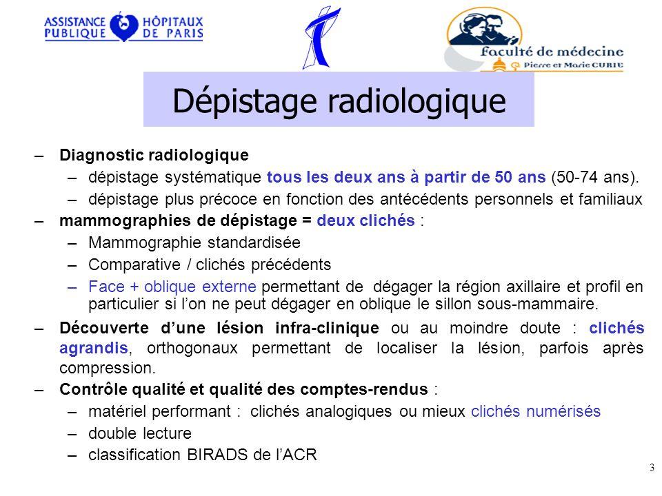 Dépistage radiologique