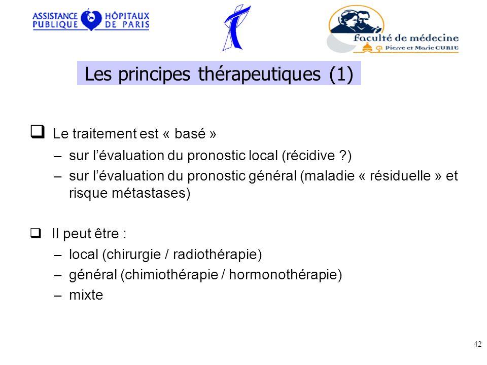 Les principes thérapeutiques (1)