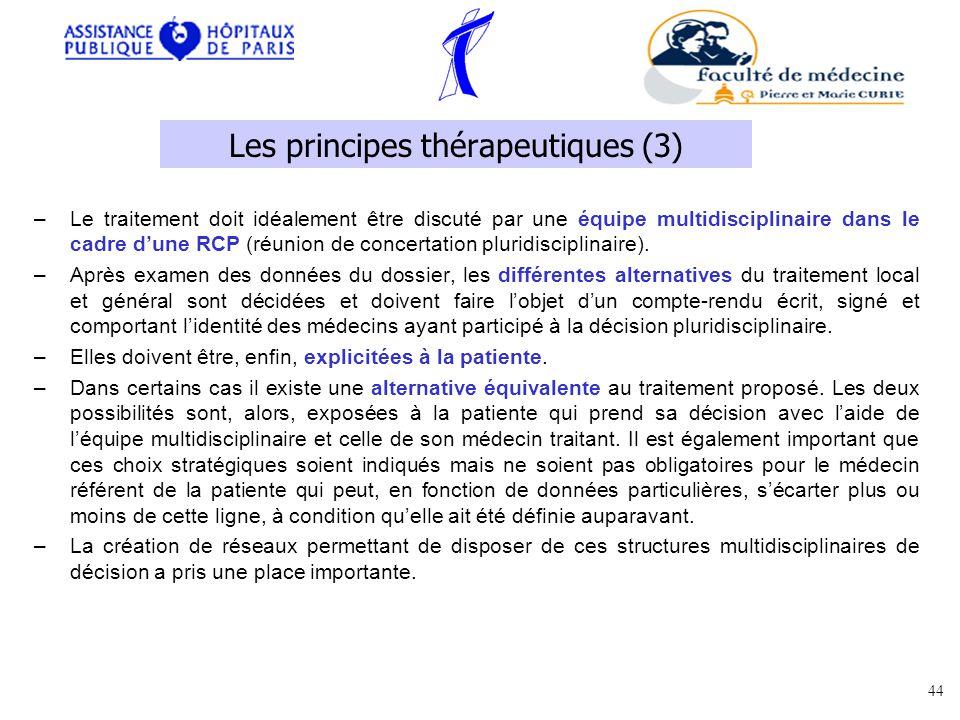 Les principes thérapeutiques (3)