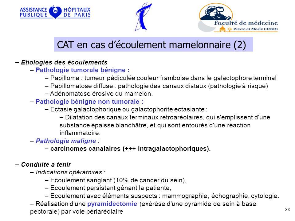CAT en cas d'écoulement mamelonnaire (2)