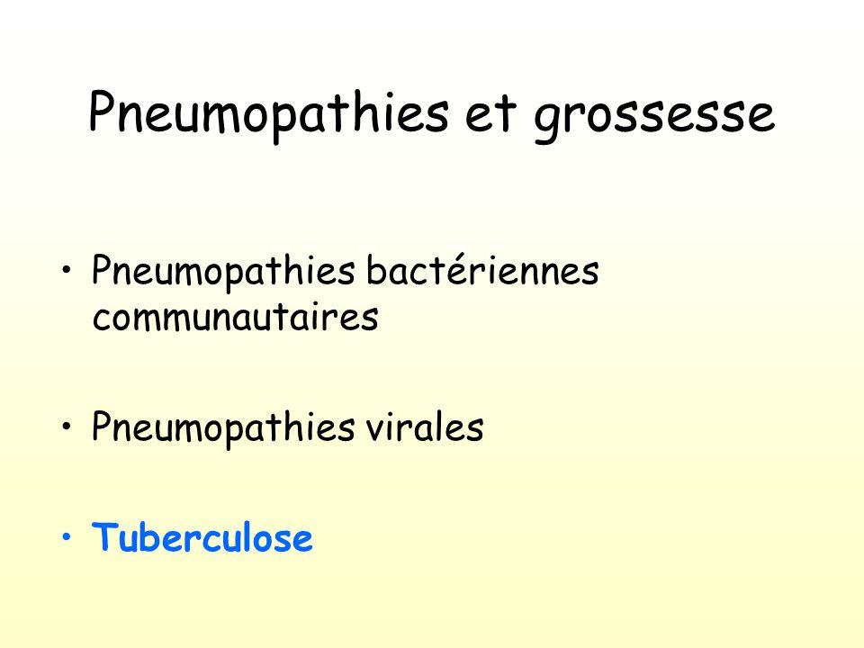 Pneumopathies et grossesse