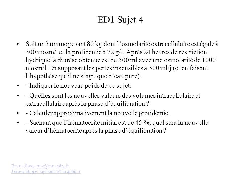 ED1 Sujet 4