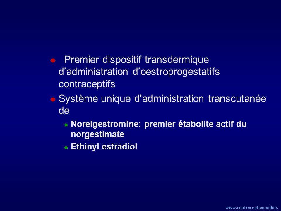 Système unique d'administration transcutanée de