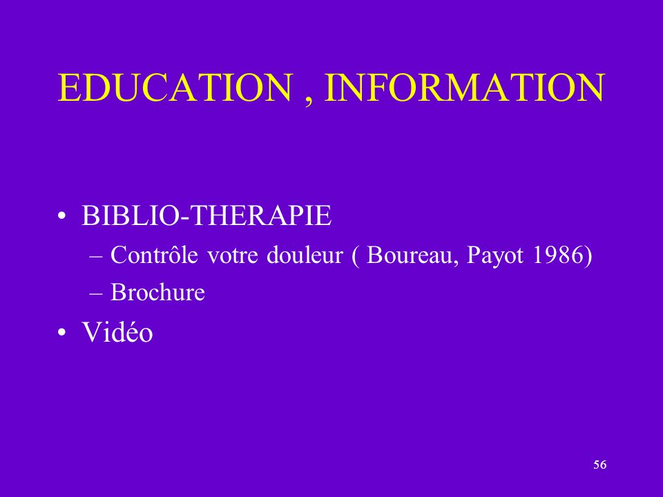 EDUCATION , INFORMATION