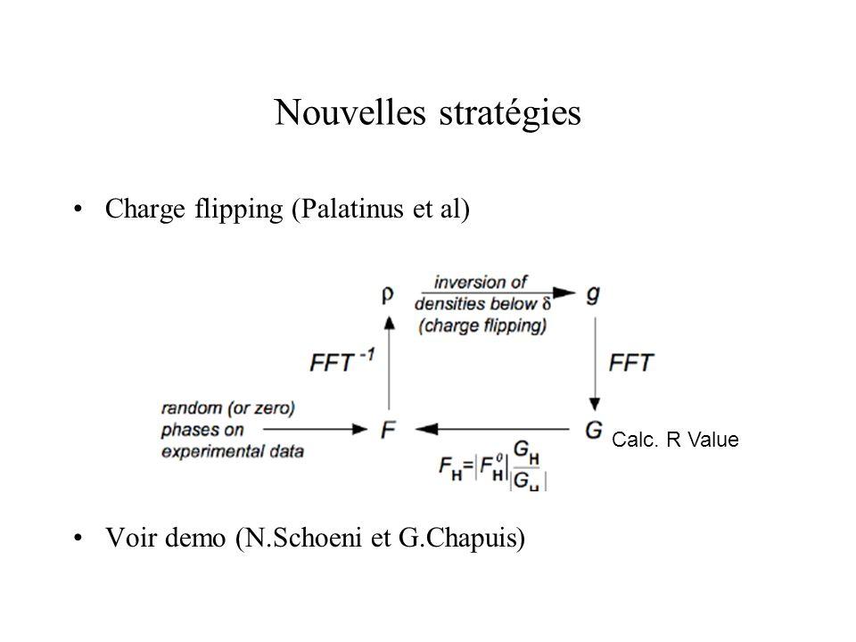 Nouvelles stratégies Charge flipping (Palatinus et al)