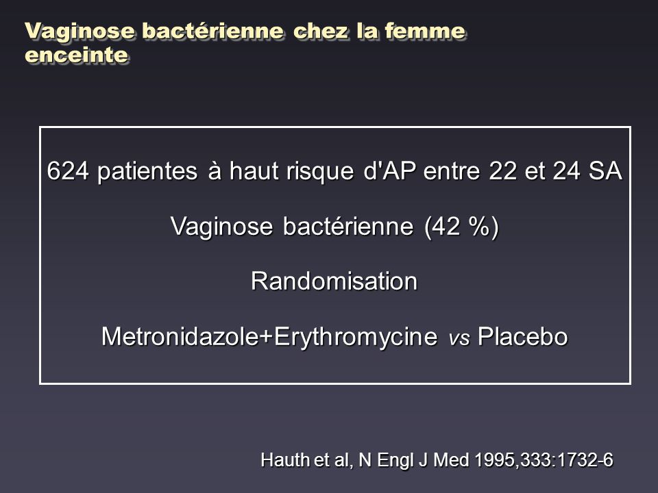 624 patientes à haut risque d AP entre 22 et 24 SA