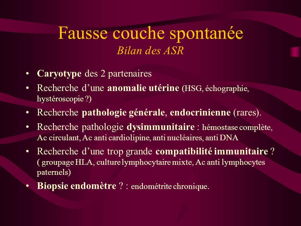 Fausse couche spontan e ppt t l charger - Anomalie chromosomique fausse couche ...