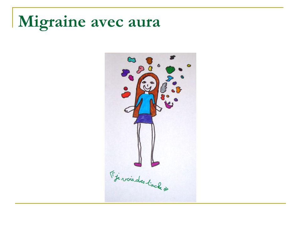 Migraine avec aura