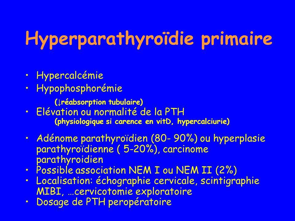 Hyperparathyroïdie primaire