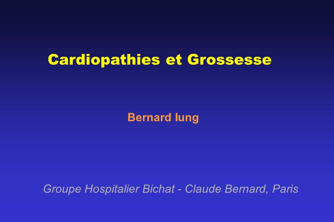 Cardiopathies et Grossesse