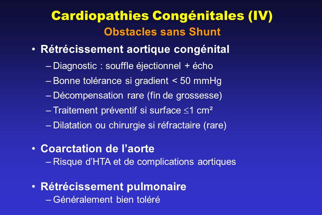 Cardiopathies Congénitales (IV)