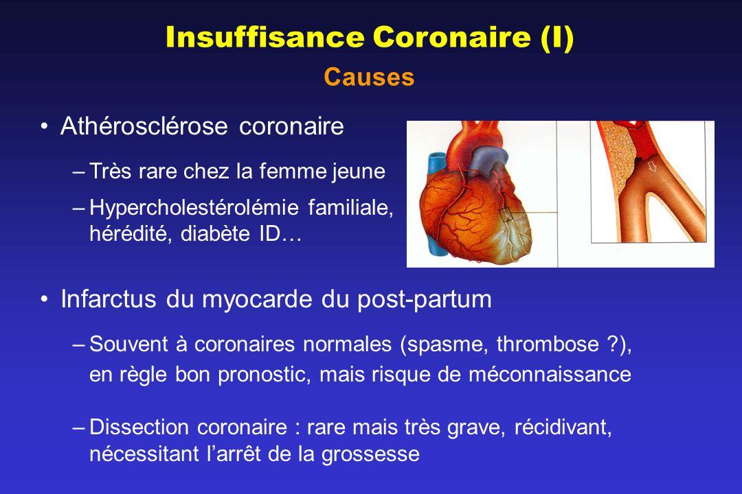 Insuffisance Coronaire (I)