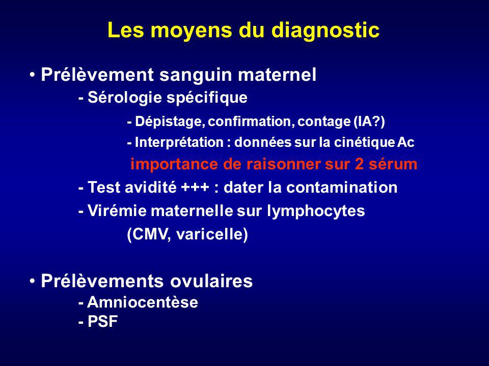 Foetopathies infectieuses ppt t l charger - Prelevement sanguin sur chambre implantable ...
