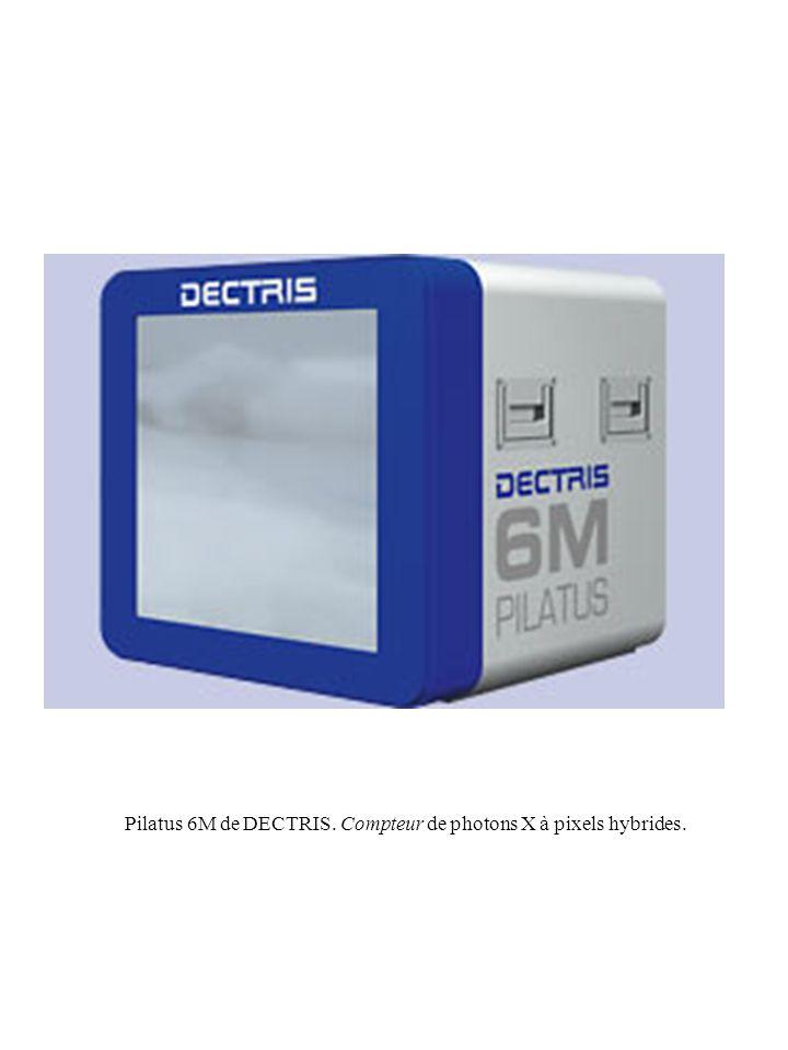 Pilatus 6M de DECTRIS. Compteur de photons X à pixels hybrides.