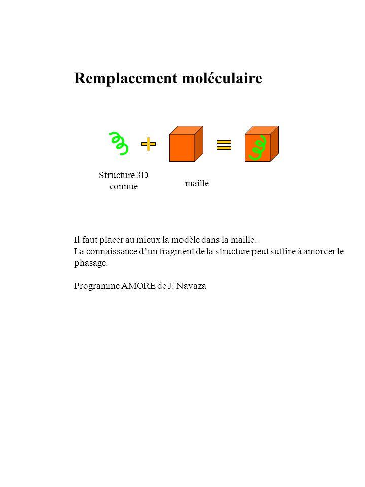 Remplacement moléculaire