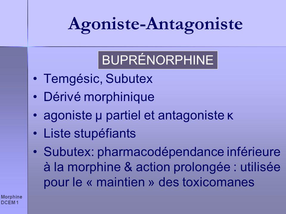 Agoniste-Antagoniste
