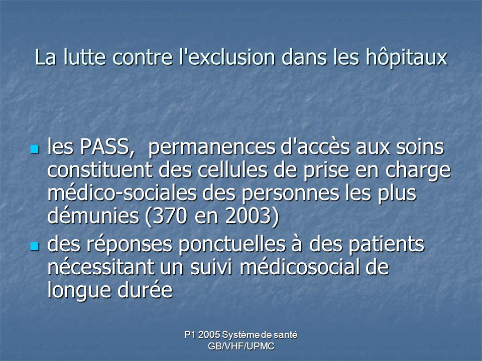 La lutte contre l exclusion dans les hôpitaux