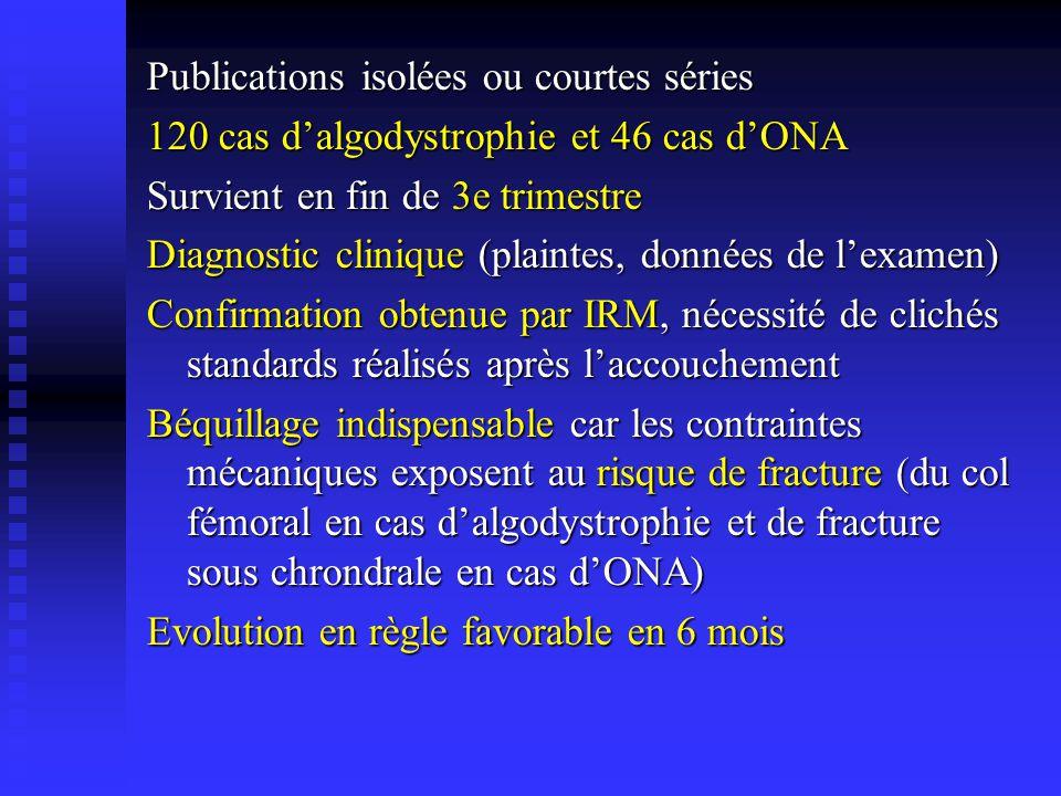 Publications isolées ou courtes séries