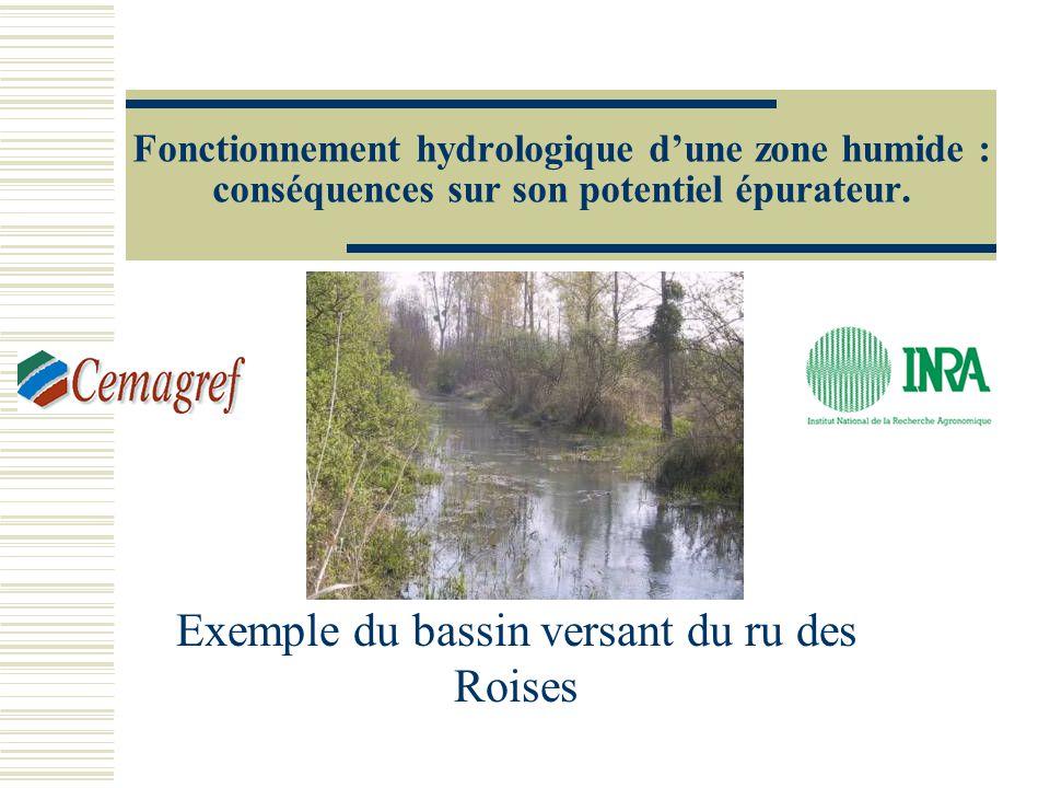 Exemple du bassin versant du ru des Roises