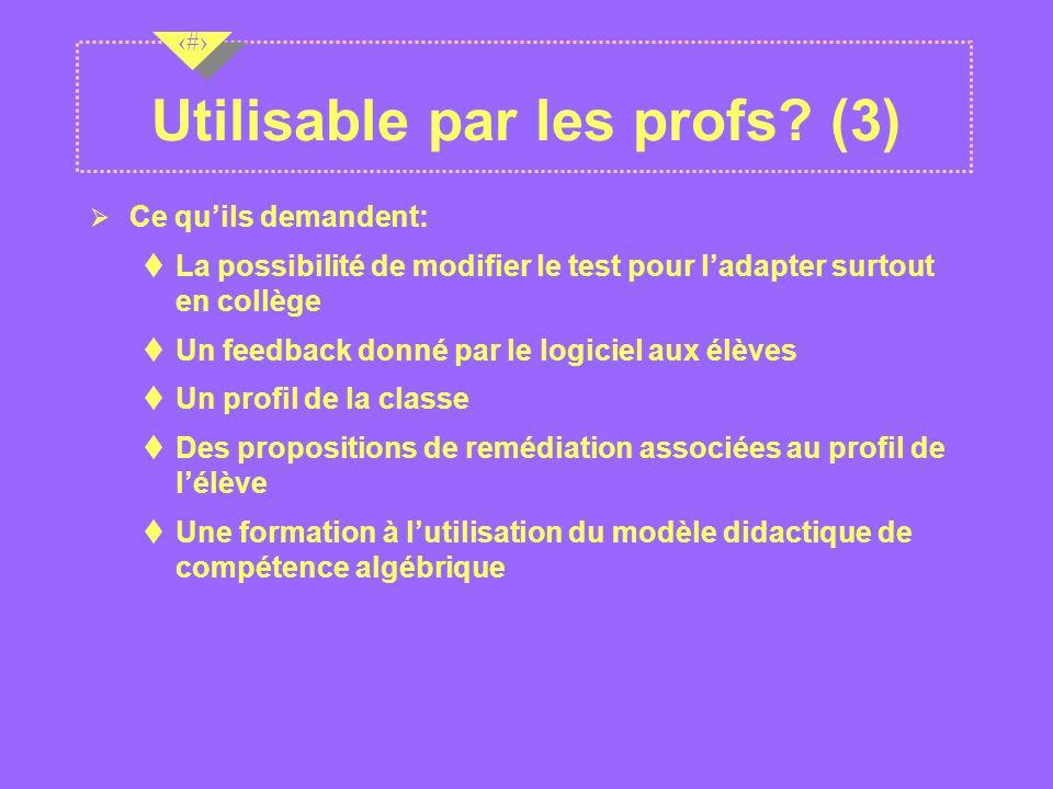 Utilisable par les profs (3)