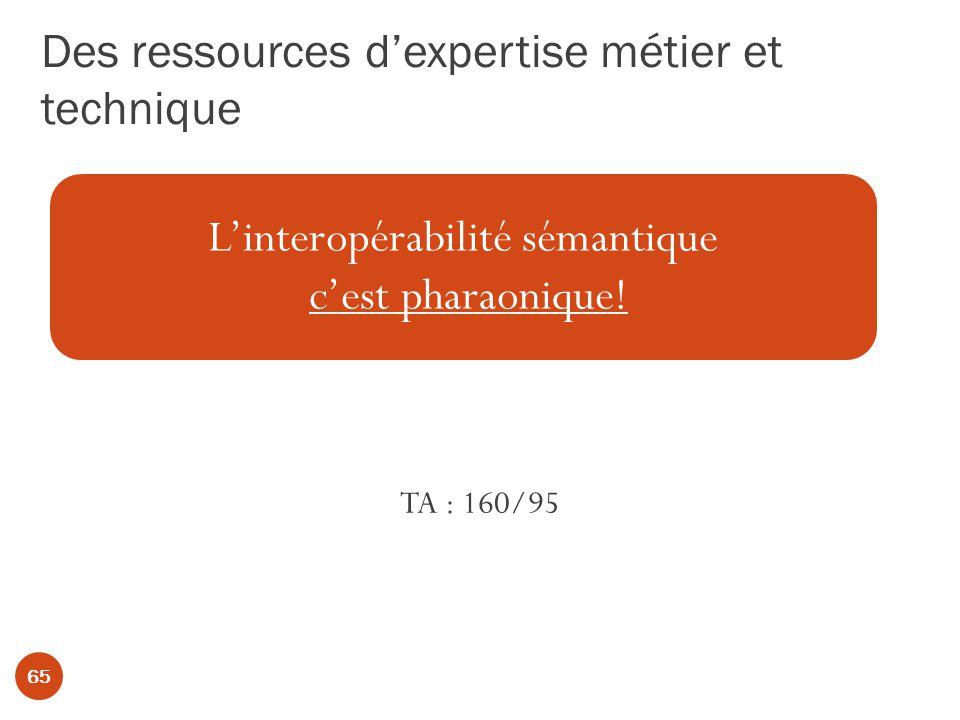 Des ressources d'expertise métier et technique