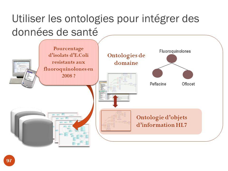 Utiliser les ontologies pour intégrer des données de santé