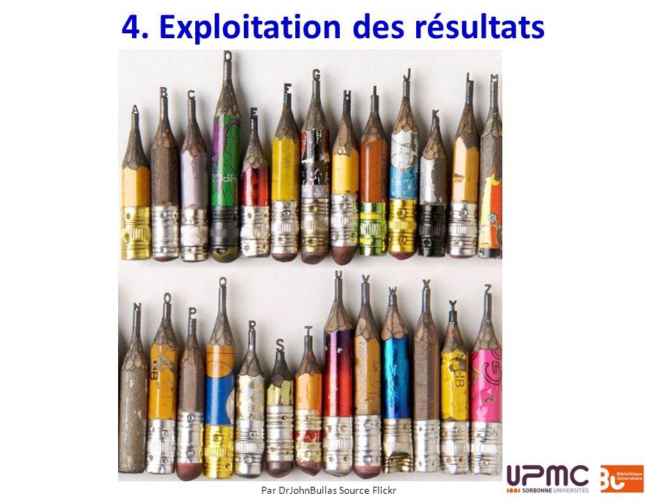 4. Exploitation des résultats