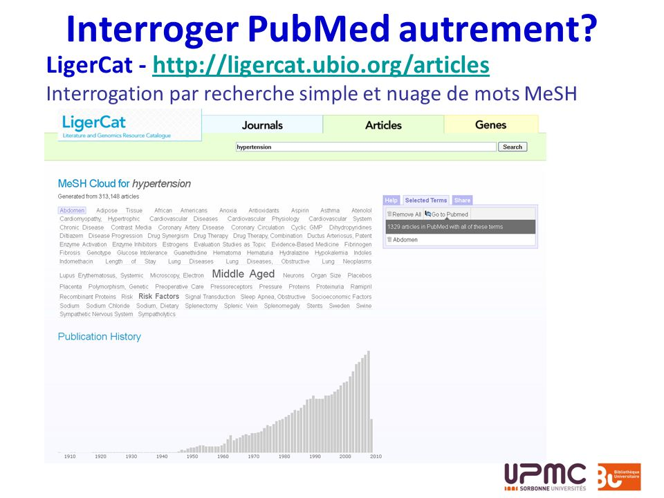 Interroger PubMed autrement
