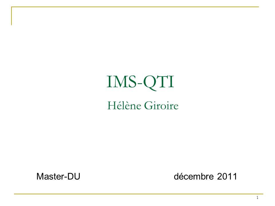 IMS-QTI Hélène Giroire