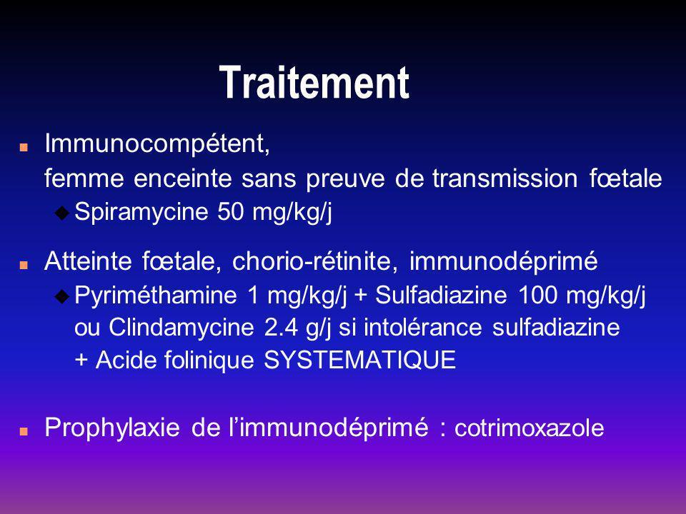 Traitement Immunocompétent,