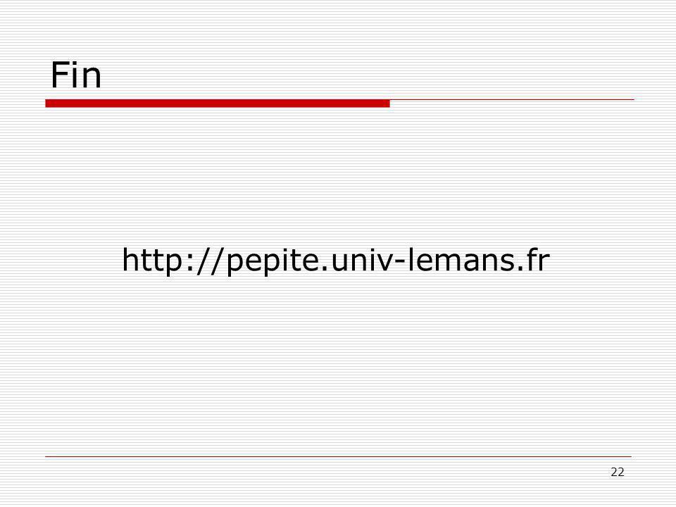 Fin http://pepite.univ-lemans.fr