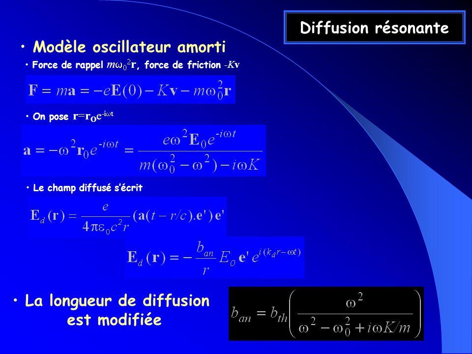 Modèle oscillateur amorti