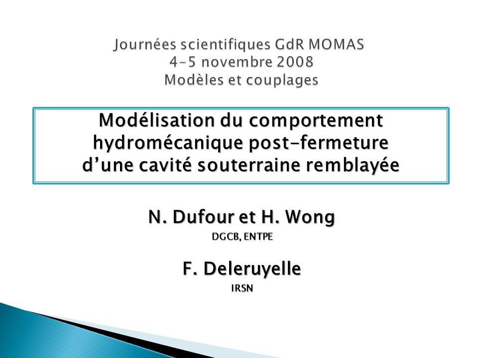Journées scientifiques GdR MOMAS 4-5 novembre 2008 Modèles et couplages
