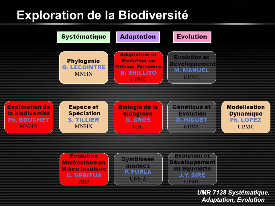 Exploration de la Biodiversité
