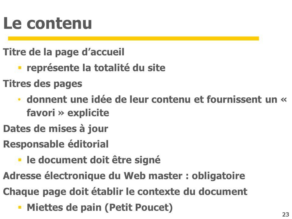 Le contenu Titre de la page d'accueil représente la totalité du site