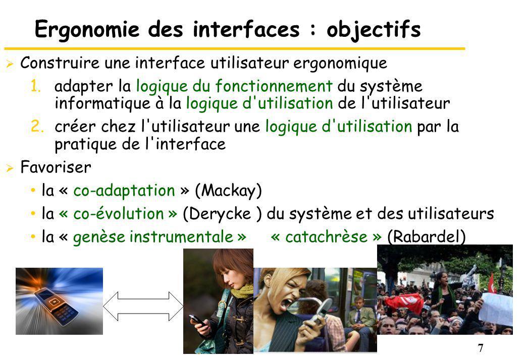 Ergonomie des interfaces : objectifs