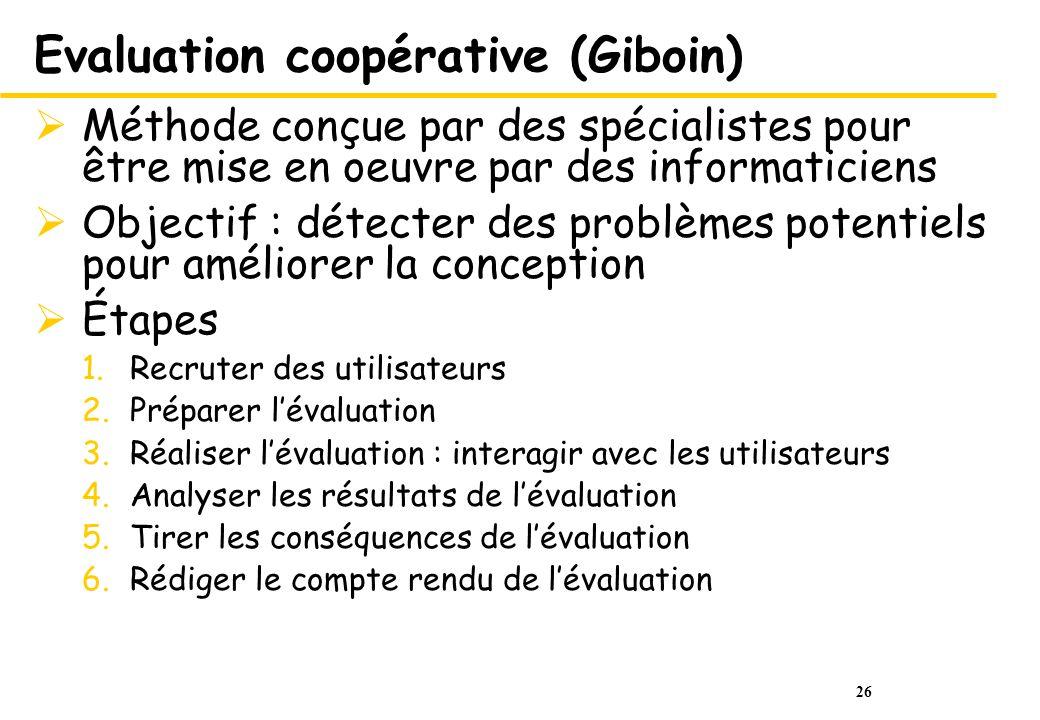 Evaluation coopérative (Giboin)