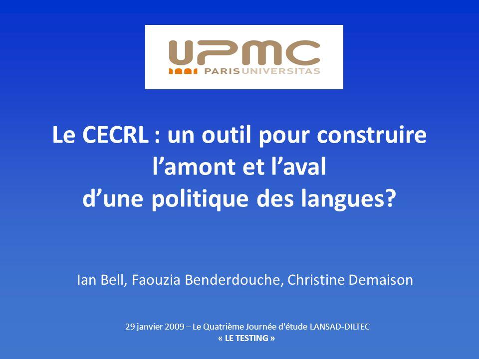 Ian Bell, Faouzia Benderdouche, Christine Demaison