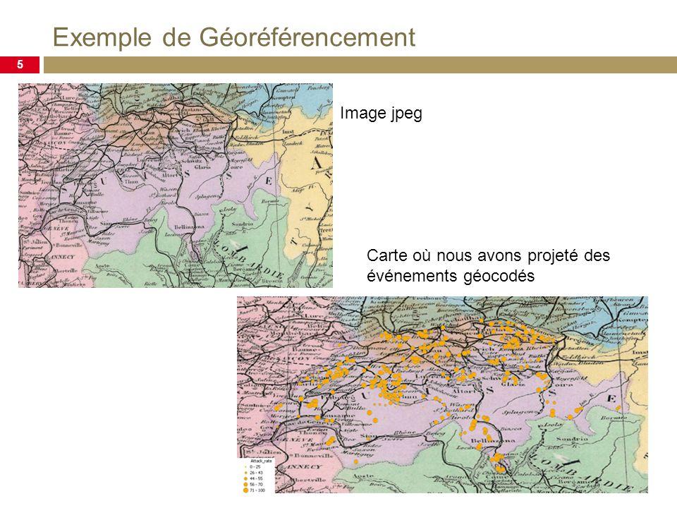 Exemple de Géoréférencement