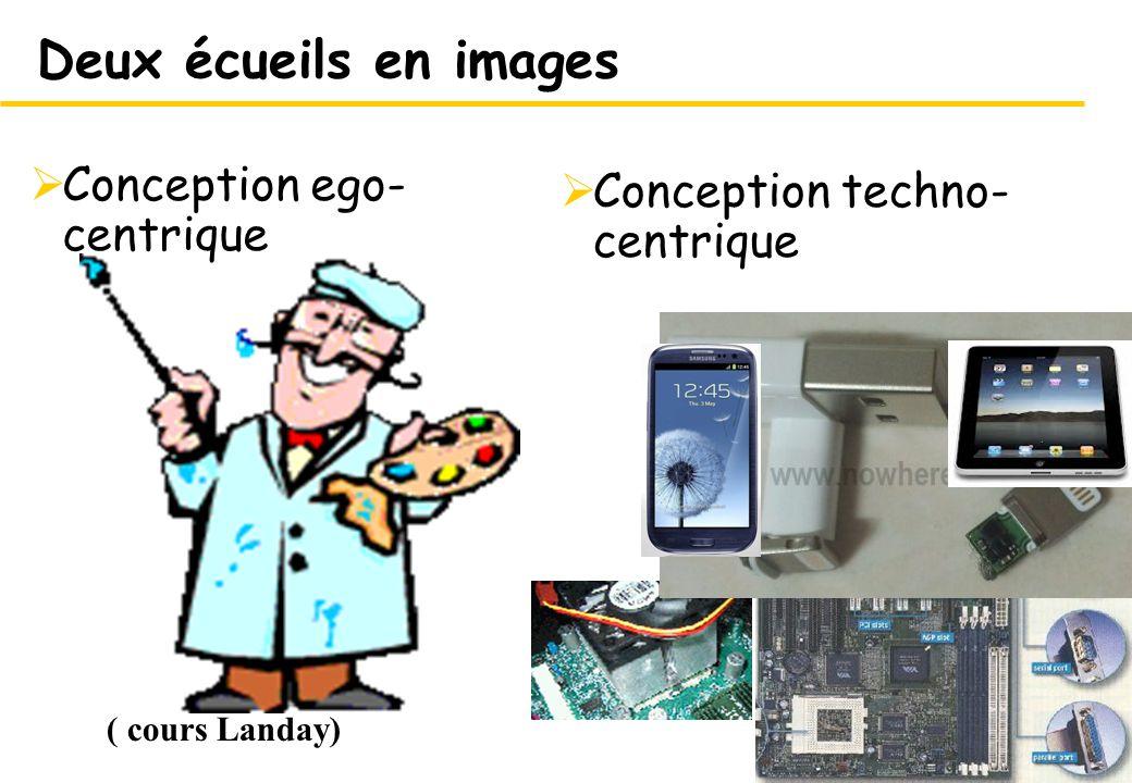 Deux écueils en images Conception ego-centrique