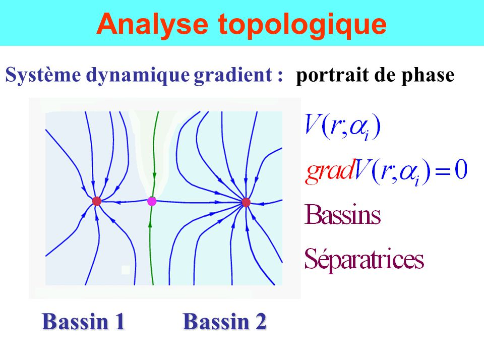 Analyse topologique Bassin 1 Bassin 2