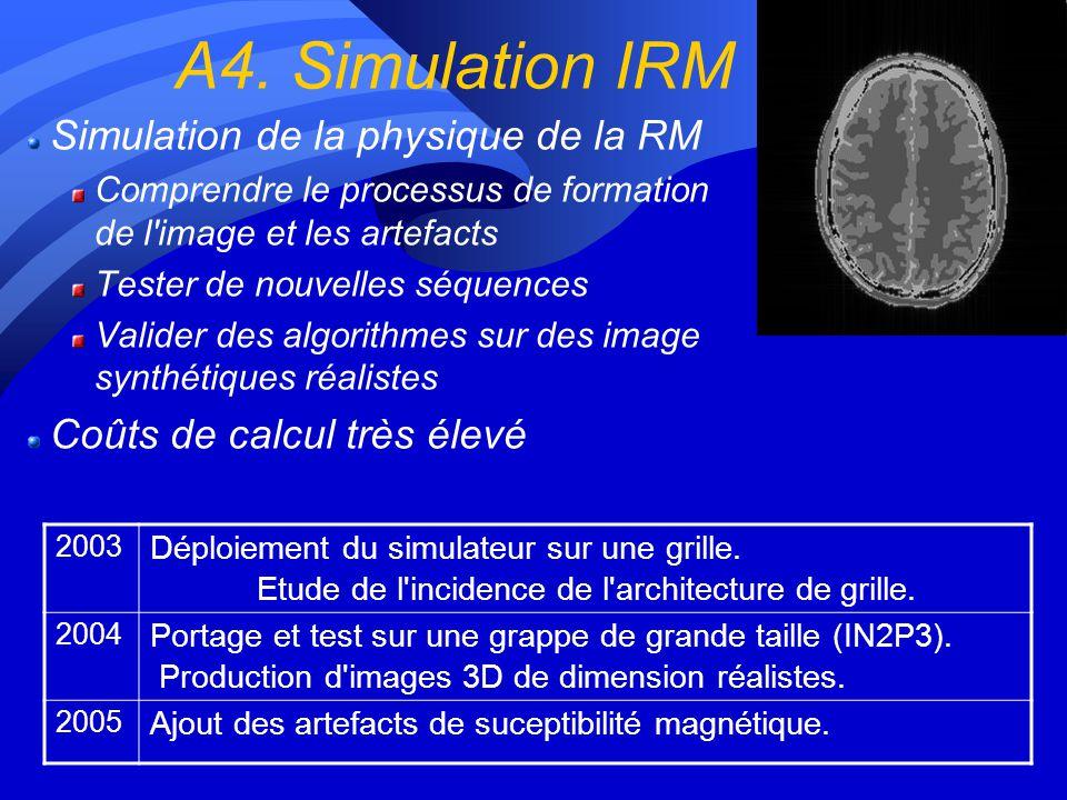 A4. Simulation IRM Simulation de la physique de la RM