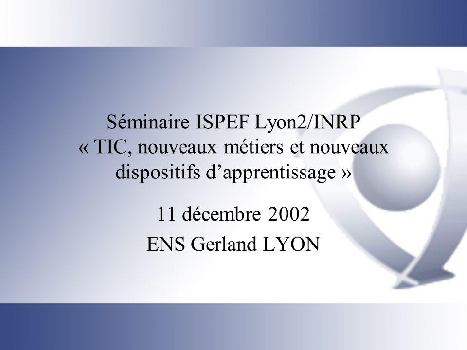 11 décembre 2002 ENS Gerland LYON