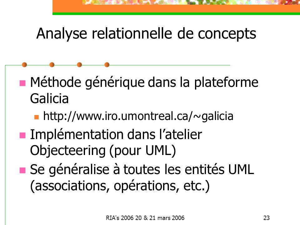 Analyse relationnelle de concepts