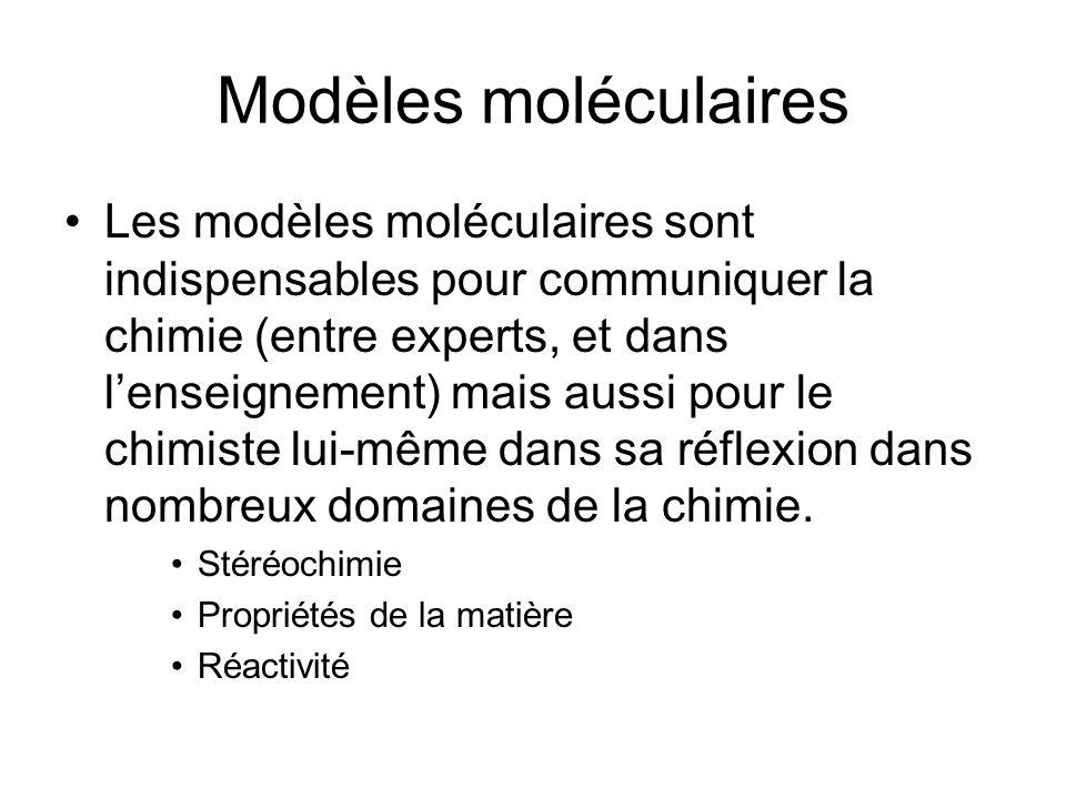 Modèles moléculaires