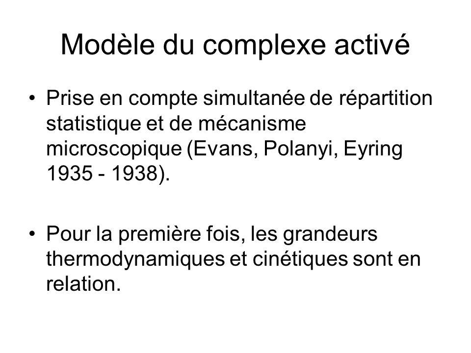 Modèle du complexe activé