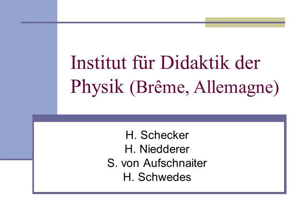 Institut für Didaktik der Physik (Brême, Allemagne)