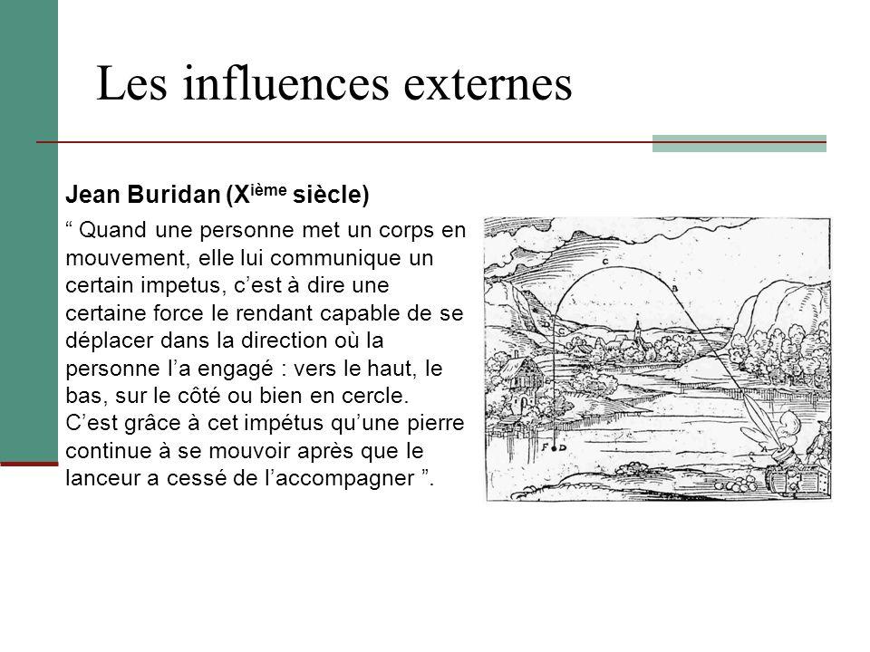 Les influences externes