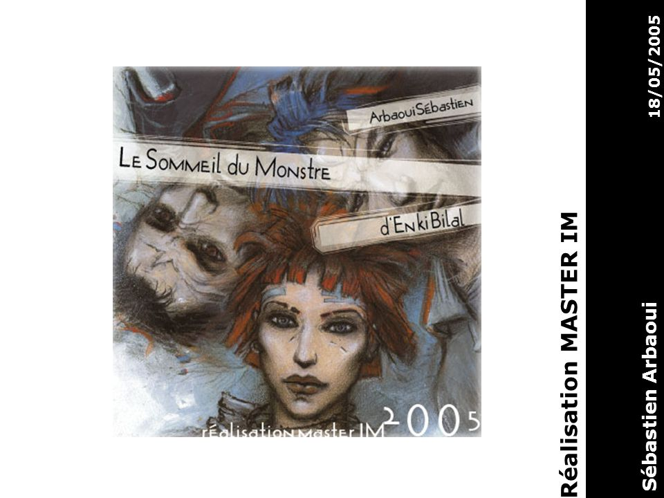 18/05/2005 Réalisation MASTER IM Sébastien Arbaoui