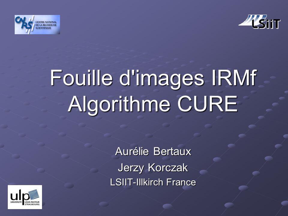 Aurélie Bertaux Jerzy Korczak Fouille d images IRMf Algorithme CURE